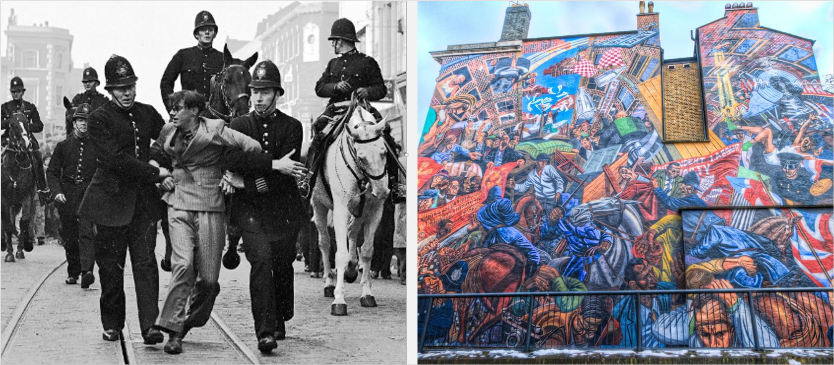 """OPINION: """"They shall not pass"""" – lessons 80 years after East Londoners stood up to facism"""