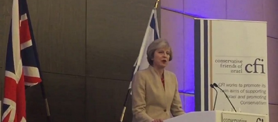 """Theresa May: """"We will be marking Balfour anniversary with pride"""" – Read today's speech in full"""