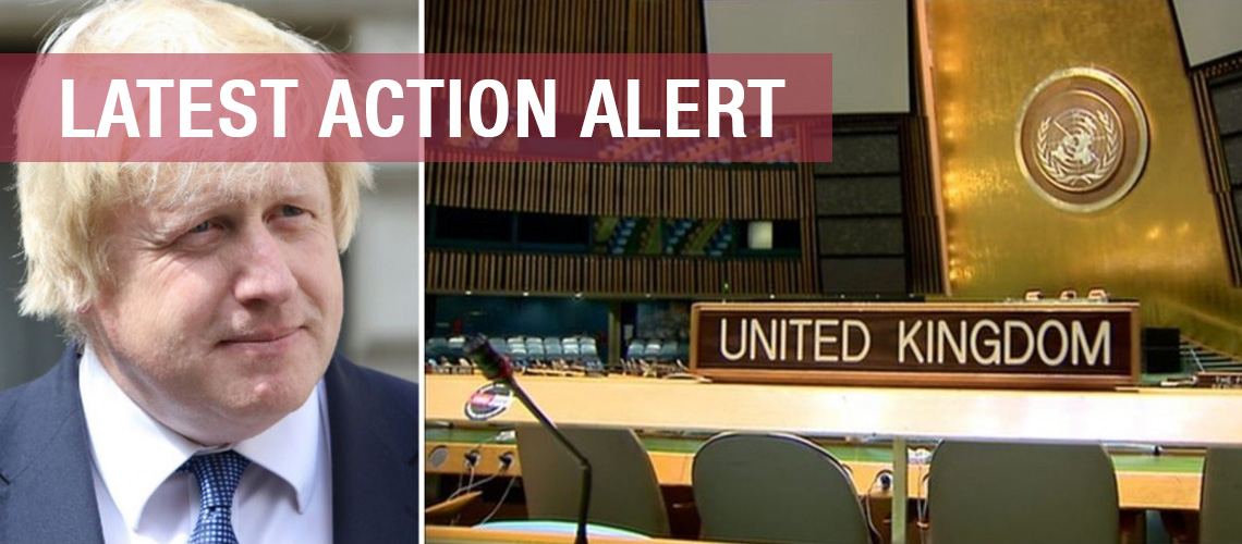 Take Action: UK votes against Israel at the United Nations