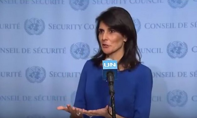 "WATCH: New US ambassador slams UN security council – ""U.S. is determined to stand up to the UN's anti-Israel bias"""