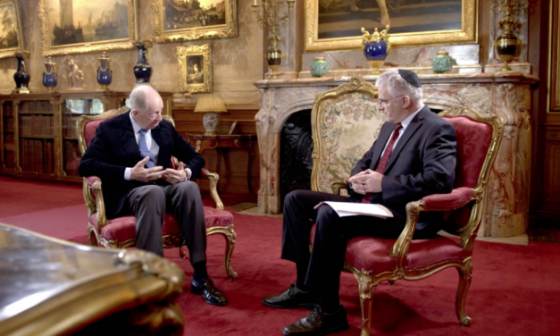 WATCH: Lord Rothschild discusses cousin's crucial role in 'miracle' Balfour Declaration