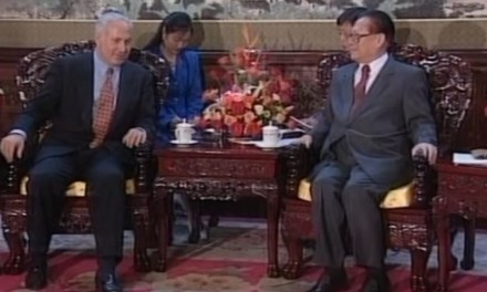 Netanyahu tells story of when he explained Jewish survival to the Chinese President