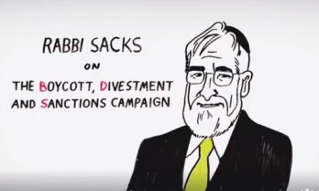 MUST WATCH: How this video by Rabbi Sacks is smashing the anti-Israel lies