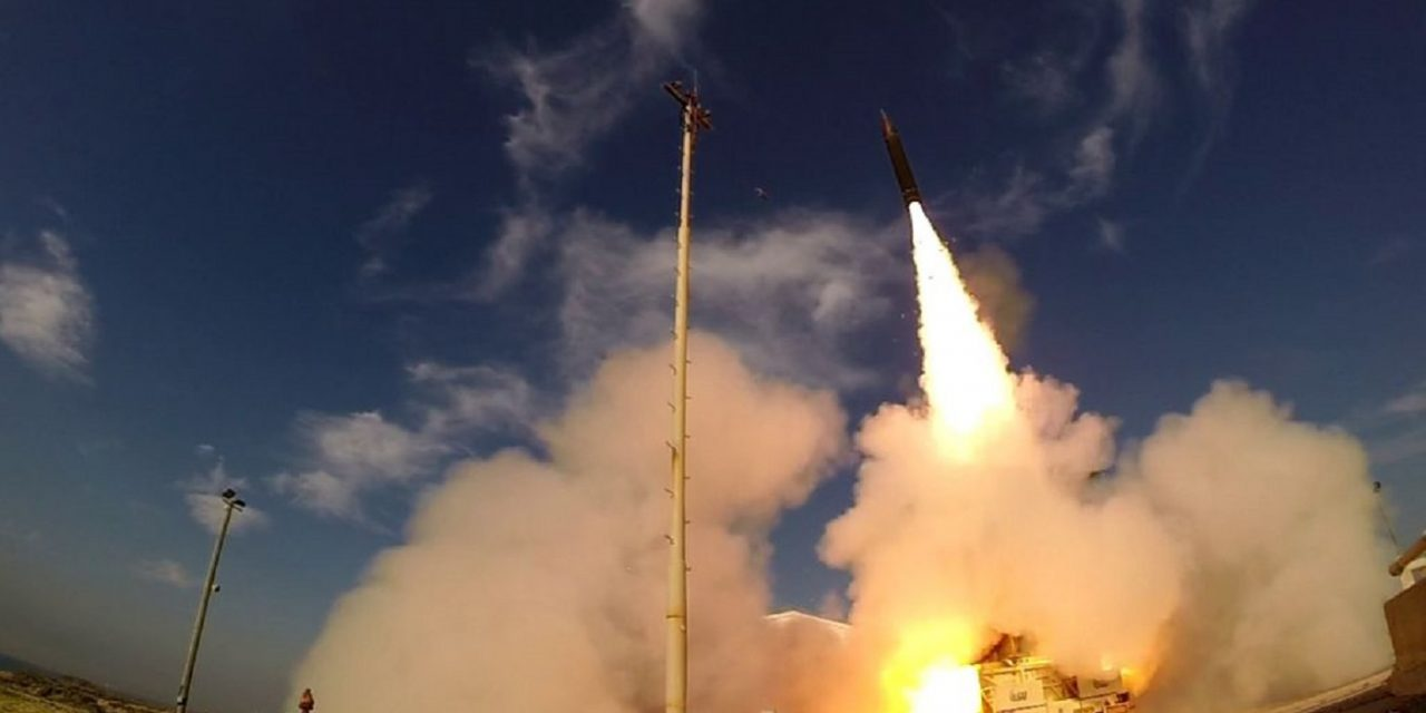 IDF deploys 'Arrow' defense system for 1st time, intercepts Syrian missile