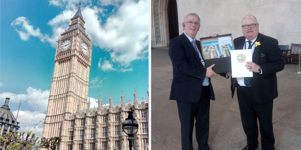 CUFI delivers over 2000 of YOUR Jerusalem postcards to Parliament