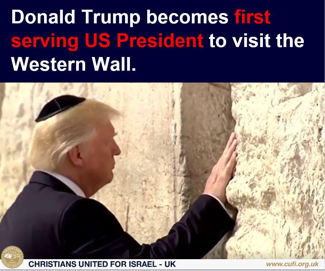 LIVE Updates: President Trump in Israel | Christians ...