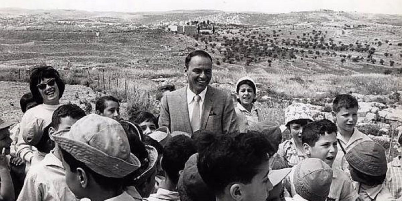 WATCH: Rare footage of Frank Sinatra in Israel reveals committed Zionist