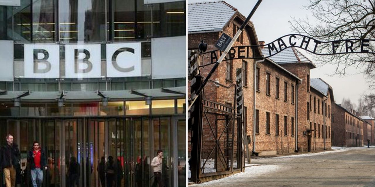 "BBC says Holocaust is ""sensitive topic"" for Muslims"