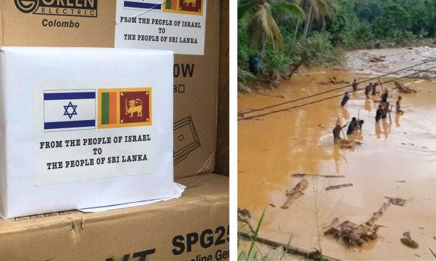 Israel sends emergency aid to Sri Lanka as floods kills 200 and displace half a million