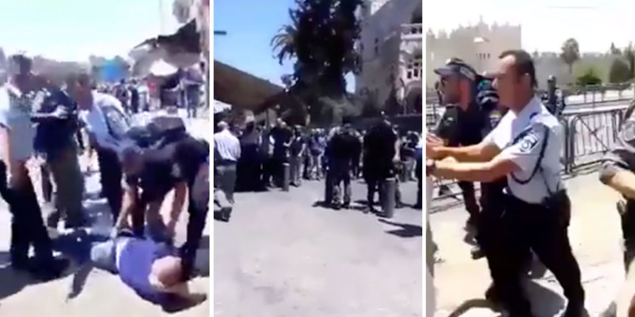 Muslims riot as Temple Mount closes following deadly terror attack