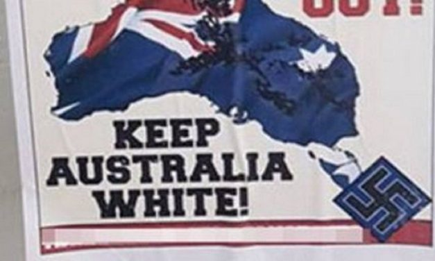 Australia: Neo-Nazi group puts up anti-Semitic posters in Melbourne schools