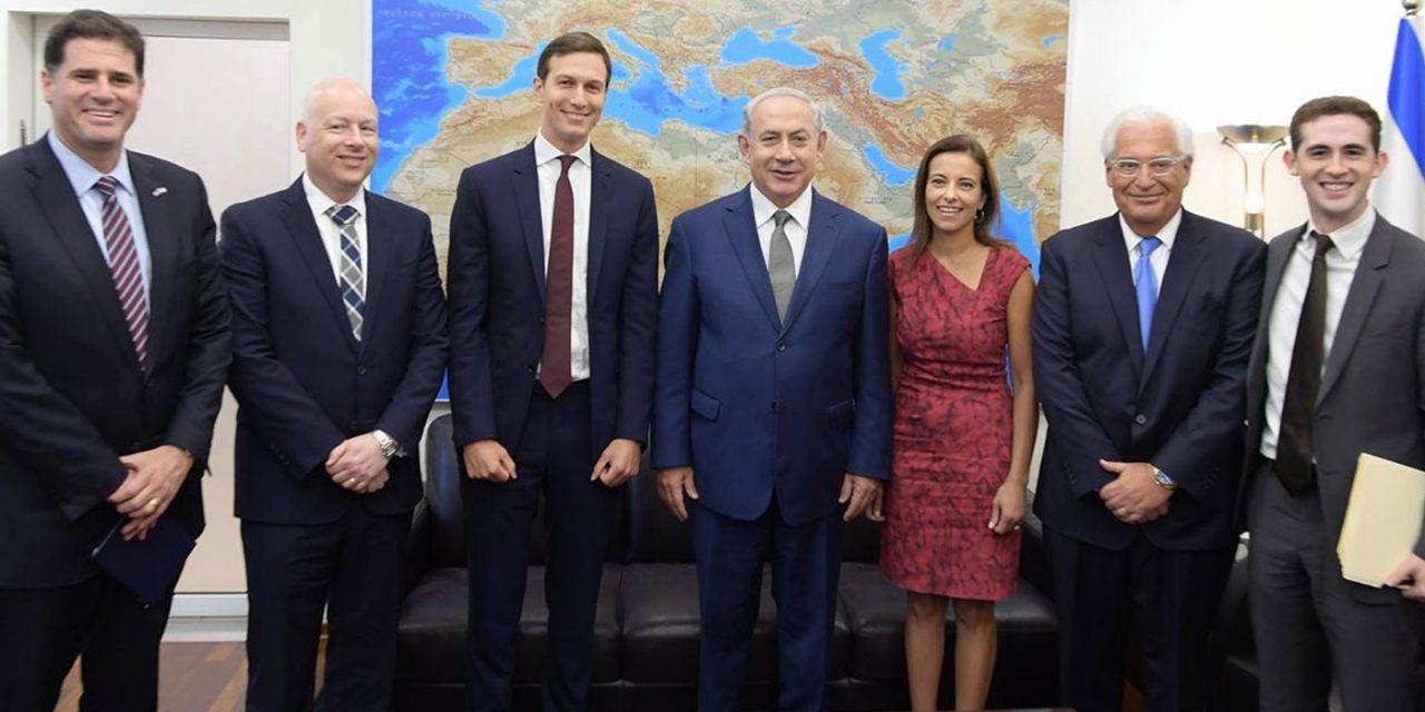 Watch: Netanyahu and Kushner meet in bid to restart peace talks