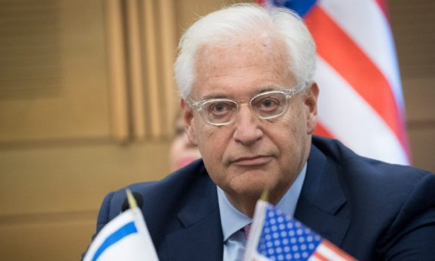 """Ambassador Friedman: """"The 'new' antisemitism worries me more than the 'old'"""""""