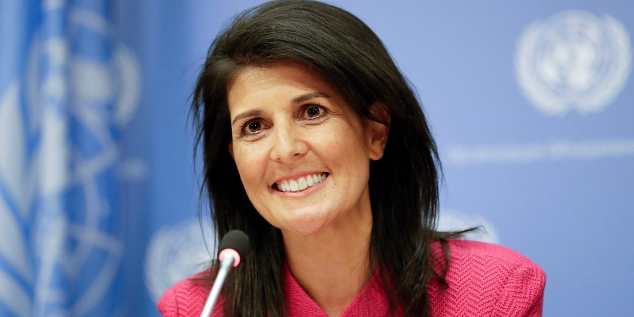 Nikki Haley tells UN Security Council to do more to stop Iranian terror
