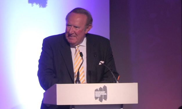 Andrew Neil gives powerful speech on anti-Semitism and the Holocaust