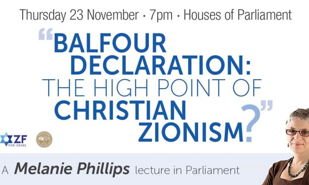 Melanie Phillips lecture in Parliament – Book your place