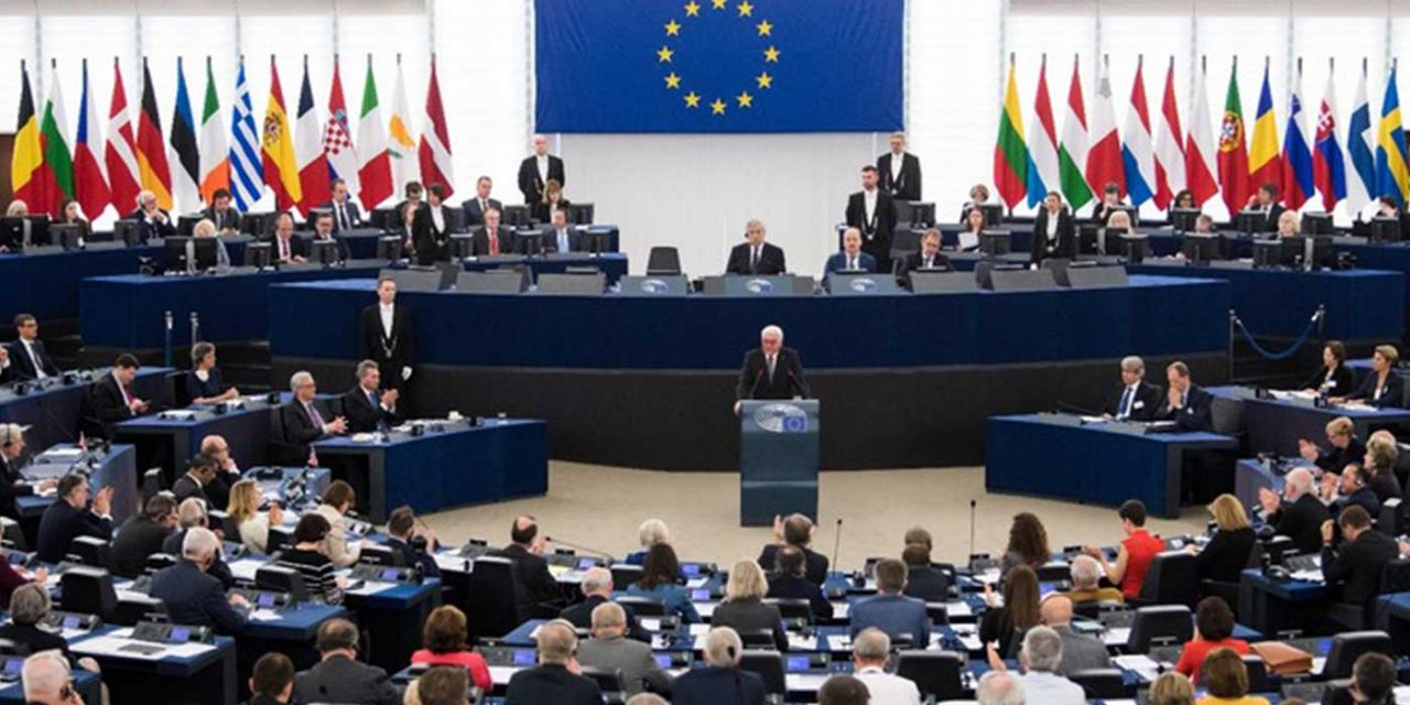 """EU leaders give """"firm commitment"""" to two-state solution, say Jerusalem stance """"remains unchanged"""""""