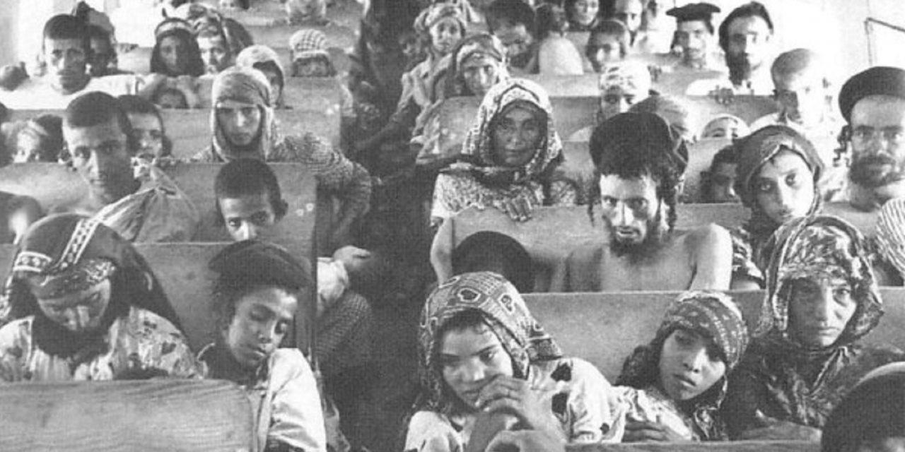 "Original footage of the ""Silent exodus"" of Jewish refugees"
