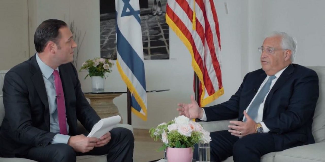 Exclusive CUFI interview with US Ambassador to Israel, David Friedman