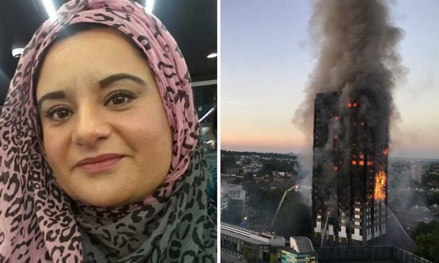 "Grenfell aid organiser says ""victims were burnt alive in Jewish sacrifice"""