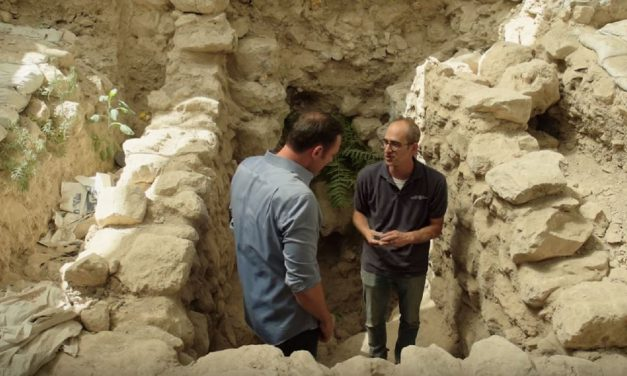 Israeli archaeologists uncovering amazing evidence of Babylonian destruction of Jerusalem