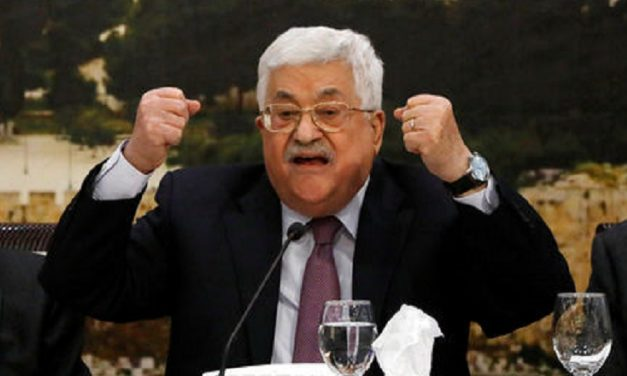 "Abbas ""tore off mask"" in sensational, anti-Semitic tirade"