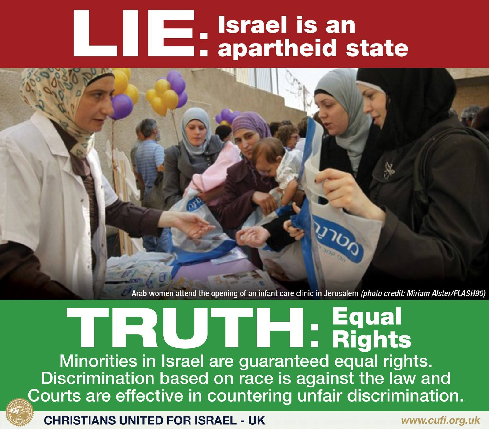 Israel is not apartheid 2