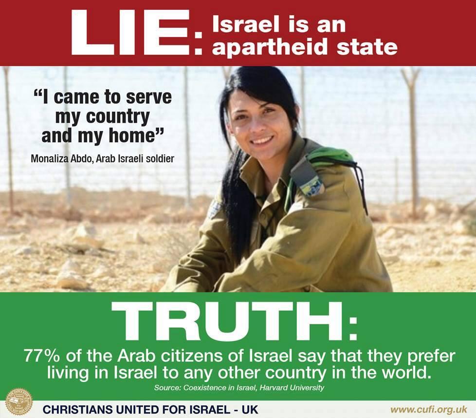 Israel is not apartheid 7