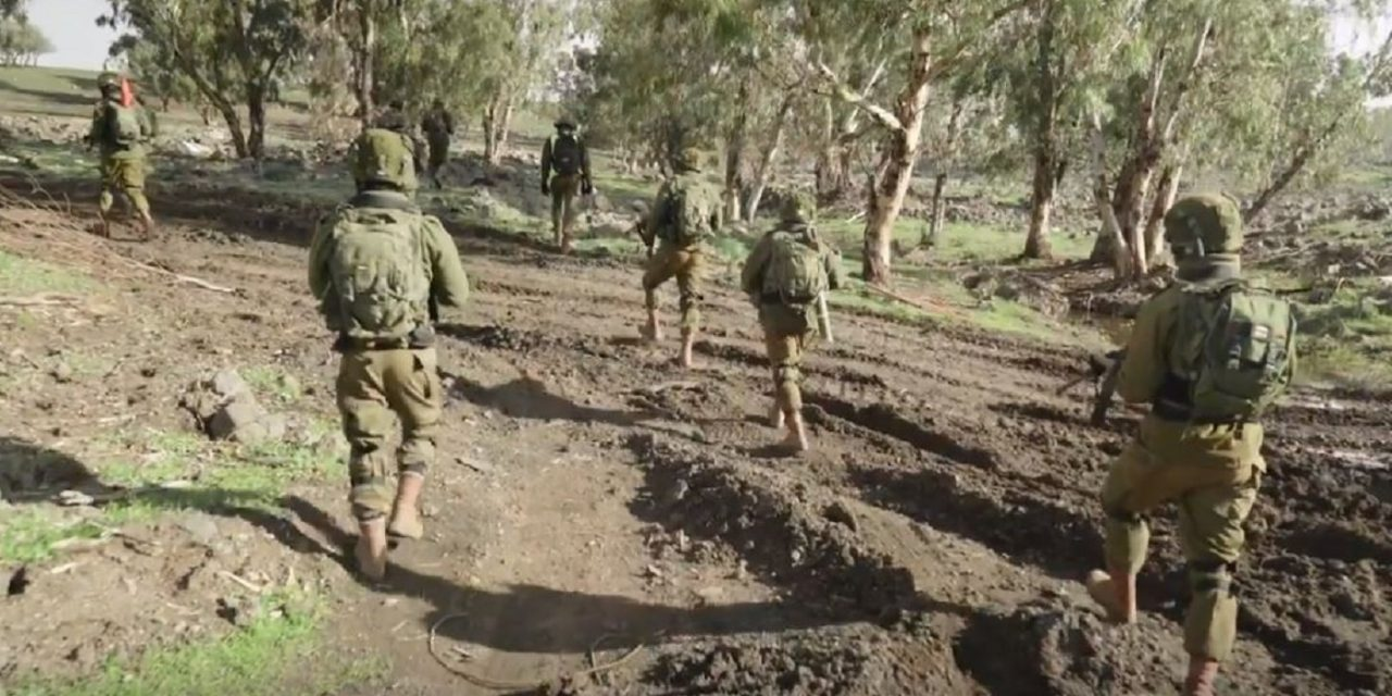 The Watchman joins IDF Paratroopers in Live Fire Drill on Israel's Golan Heights