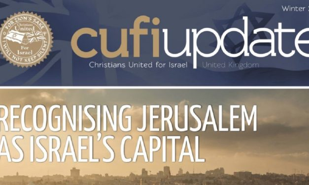CUFI UK Ministry Update – Winter 2018
