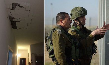 Israeli airforce strikes Gaza terror targets after Hamas bomb wounds IDF soldiers