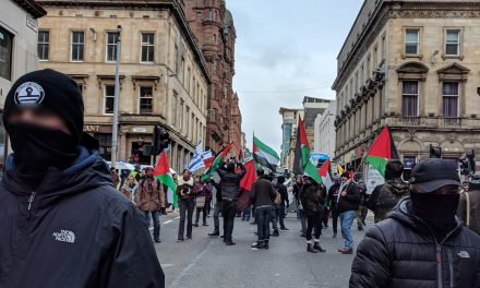 Muslim Council of Scotland BOYCOTTS anti-racism march because of pro-Israel participants; Far-left groups intimidate with antisemitism