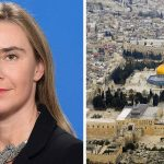 EU's Mogherini sides with Abbas in blueprint of a Palestinian state