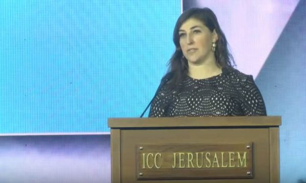 "Actress Mayim Bialik: ""I am happy to take public bullet for Israel"""