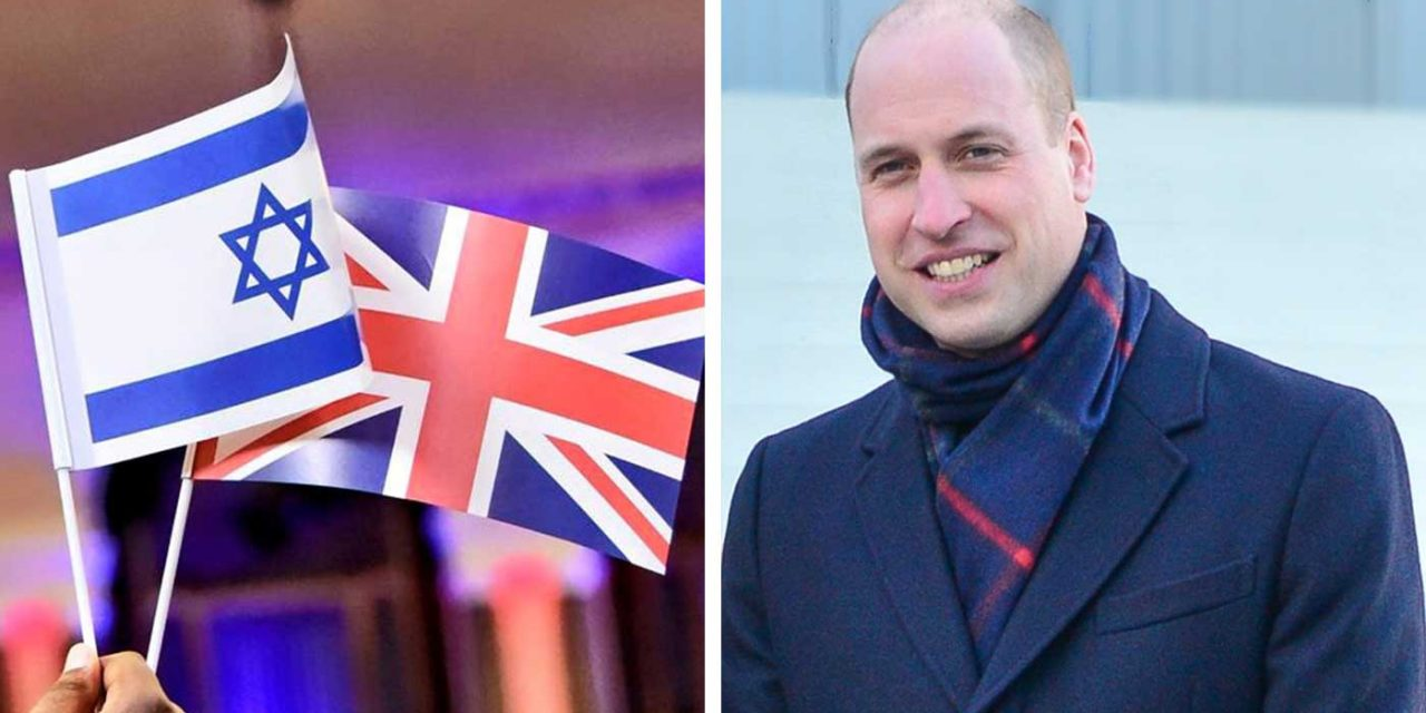 BREAKING: Prince William to make first-ever official Royal visit to Israel