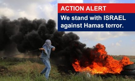ACT NOW: Email Boris Johnson to condemn Hamas terror at Israel's border, STAND with Israel