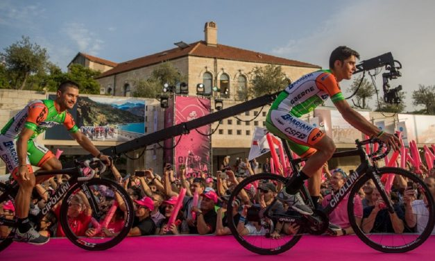 Israel makes history in hosting start of Giro d'Italia cycle race