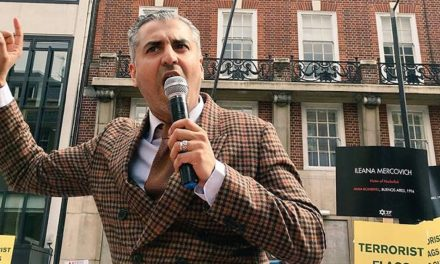 Maajid Nawaz gives powerful speech at Al Quds counter-rally…after previously rallying in support for Hezbollah