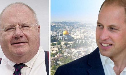 """William will see the real Israel we know and love"" – Lord Eric Pickles"