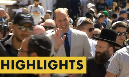 Highlights: The best moments from Prince William's visit to Israel