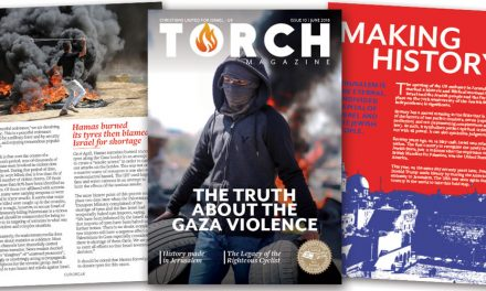 The TRUTH about the Gaza violence | Receive your free copy of TORCH Magazine