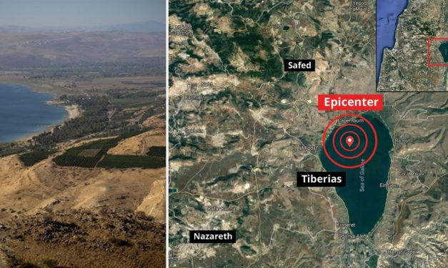 Israel holds emergency meeting after TWELVE quakes in recent days