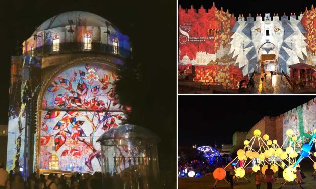 Watch: Jerusalem Light Festival illuminates the ancient city in magnificent displays