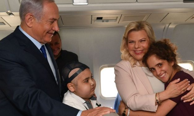 PM Netanyahu and Sara take kids fighting cancer to England's World Cup semi-final