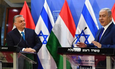 """Netanyahu thanks Hungarian leader for defending Israel on world stage """"time and time again"""""""