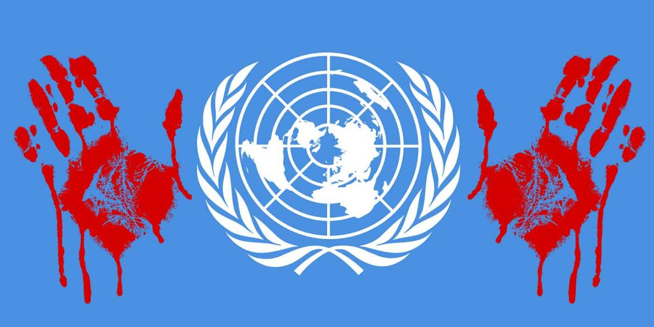 The United Nations has blood on its hands after failing to condemn Hamas