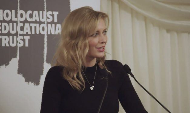 MUST WATCH: Rachel Riley's brilliant speech at Holocaust Memorial Event