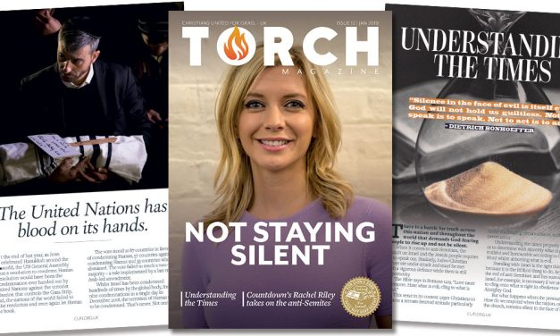 """""""Not staying silent""""   Receive your free copy of TORCH Magazine"""