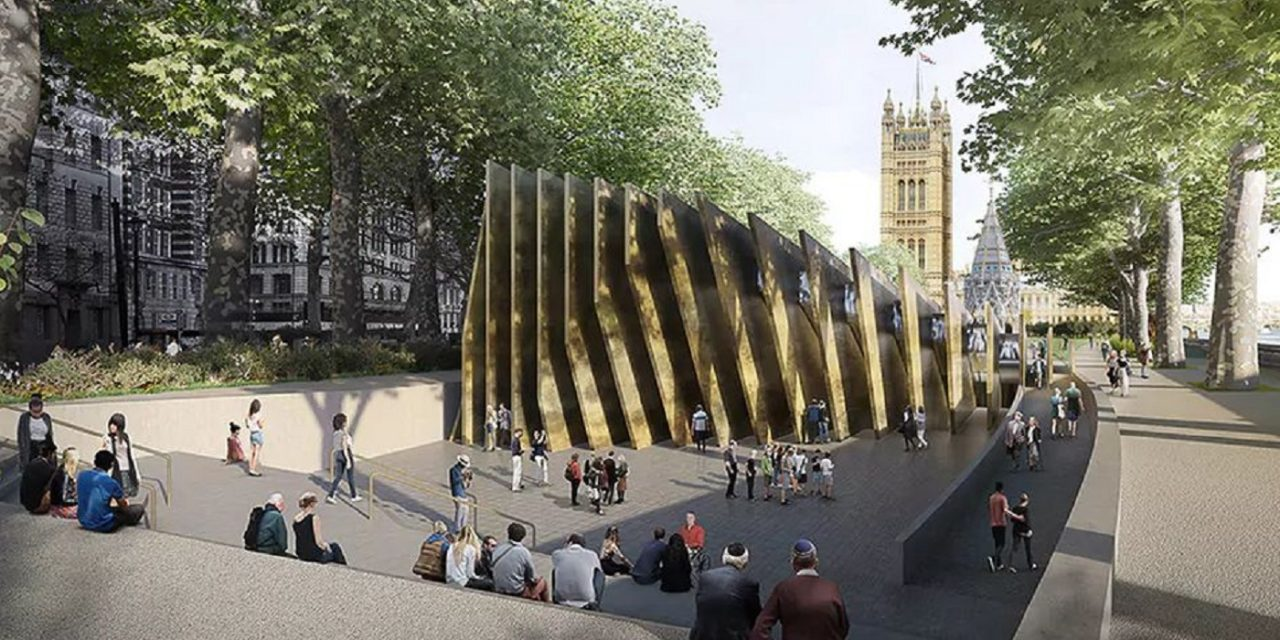 A Holocaust memorial outside Parliament is the RIGHT thing at the RIGHT time
