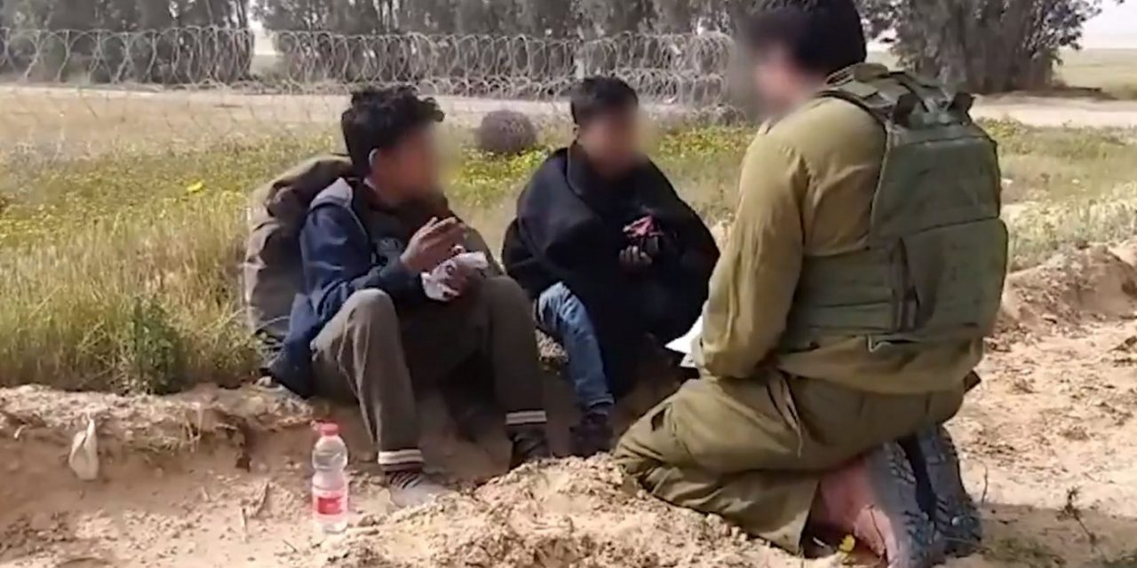 WATCH: Israeli soldiers safely return 8-YEAR-OLD Palestinian boys sent across border with knives